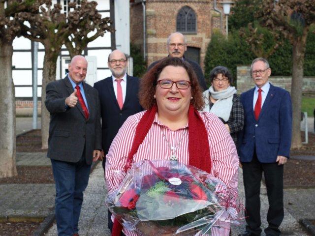 Bürgermeisterkandidatin Katharina Gläsmann